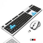 2.4G Optisk Trådlös Gaming Tangentbord 1600 DPI Mus för Win 7 8.1 Tangentbord & Mus