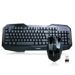 2.4G Optisk Trådløs Gaming Mus Tastatur Set til Bærbar PC Tastaturer & Mus