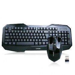 2.4G Optical Wireless Gaming Mouse Keyboard Set For Laptop PC