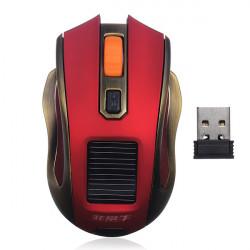 2.4G Trådlös USB Rechargerable Solar Optisk Gaming Mus
