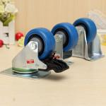 "2.5"" Hotel Caster Directional Universal Brake Mute Wheel Kontor & Skoleartikler"