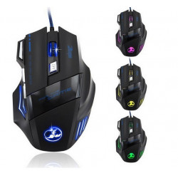 3200 DPI 7 Taste LED optische USB Gaming Mouse