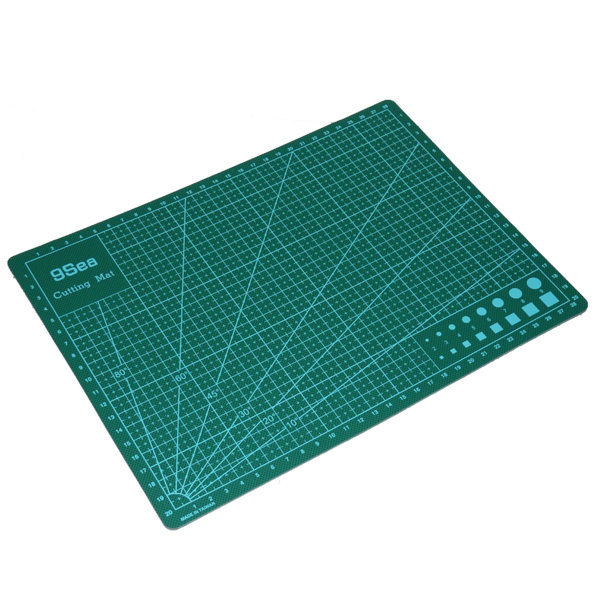 A4 Self Healing Cutting Mat PVC Double Sided Engraving Board 3mm Thickness Office & School Supplies