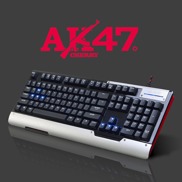 AJAZZ AK47 104 Nøgler Mekanisk Gaming Tastatur Cherry MX Switch Tastaturer & Mus