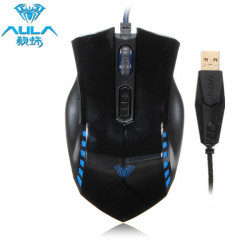 AULA Manum Gaming USB Wired Optical Mouse With Breathing Lamp