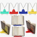 Justerbar Vinkel Sammenklappelig Portable Reading Book Stativ Desk Holder Kontor & Skoleartikler