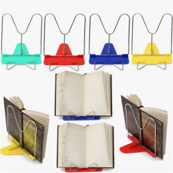 Adjustable Angle Foldable Portable Reading Book Stand Desk Holder