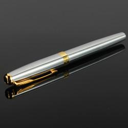 BAOER 388 Silber Exquisite Stainless M Feder Füllfederhalter