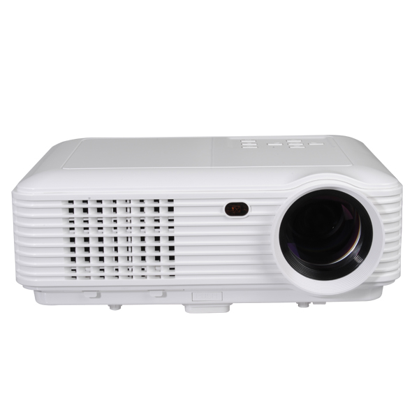 BESUNCOM M9 1280x800 4500Lumen Projector USB/AV/TV/VGA/HDMI Support 3D Office & School Supplies