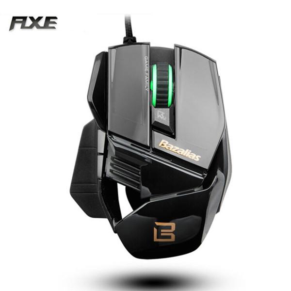 Bazalias FLXE X1 6 Tasten 800 1200 2000dpi Wired Gaming Mouse Tastaturen & Maus