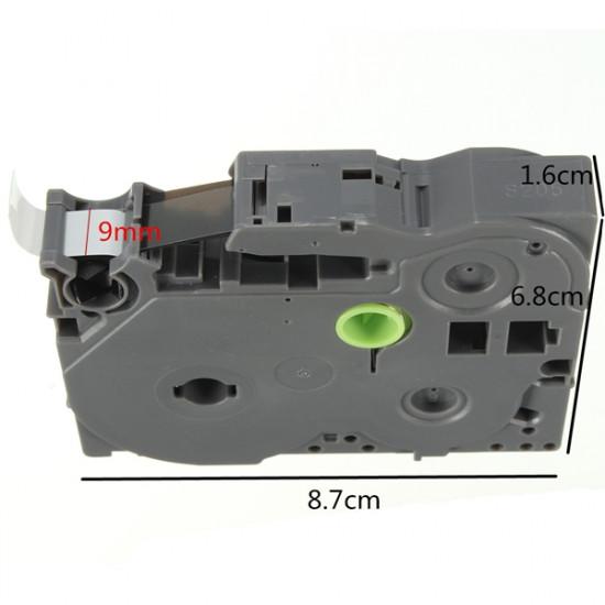 Schwarz auf Weiß Etikettenband für Brother P Touch Label Maker 9mm TZ2 221 2021