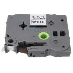 Schwarz auf Weiß Etikettenband für Brother P Touch Label Maker 9mm TZ2 221 Büro & Schulbedarf