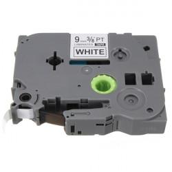 Schwarz auf Weiß Etikettenband für Brother P Touch Label Maker 9mm TZ2 221