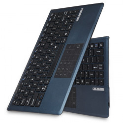 Bluetooth3.0 Tastatur med Multi-Touch Pad for Win8 Android Mac
