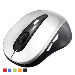 Bluetooth V3.0 1000 DPI Optisk Ergonomisk Mus