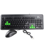 Carpo T800 Wired U+P Waterproof Keyboard And Mouse Set Keyboards & Mouse