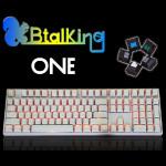 Cherry Green KBTKBTalking ONE 108 Backlit MechanicalGamingKeyboard Keyboards & Mouse