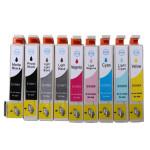 Kompatible Tintenpatrone mit Chip für Epson Photo R2880 Büro & Schulbedarf