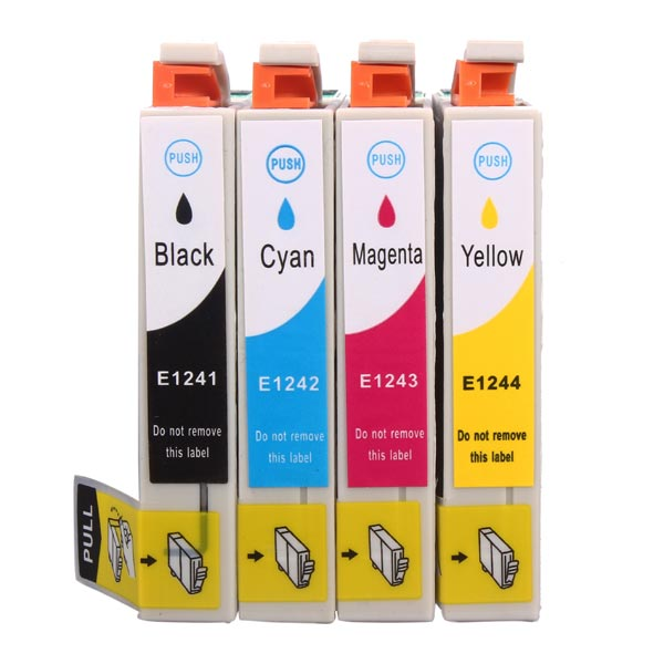Compatible Ink Cartridges for Epson Stylus NX125/127/130/230/330/420 Office & School Supplies