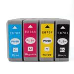 Kompatible Tintenpatronen für Epson Workforce Pro WP 4020/4530/4540 Büro & Schulbedarf