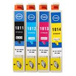 Kompatible Tintenpatronen mit Chip für EPSON XP 30/102/202/305/405 Büro & Schulbedarf