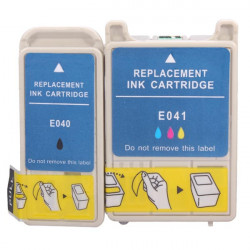 Compatible Ink Cartridges with Chip for Epson Stylus C62/CX3200
