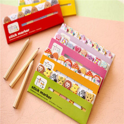 Cute Cartoon Animal Sticky Note Post-It Notepad Memo