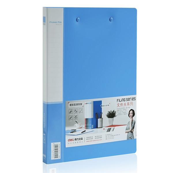 Deli 5302 A4 Gewerbe File Folder Doppel Starke Clip Doppelklammer Büro & Schulbedarf
