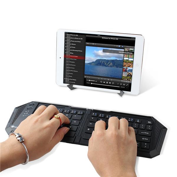 Eachine Bluetooth 3.0 Trådløs Mini Sammenfoldelig Kompakt Størrelse Tastatur Tastaturer & Mus