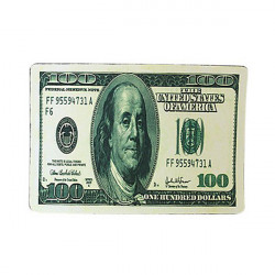 Foldable US Dollar Euro Great Britain Pound Cover Mouse Pad Mat