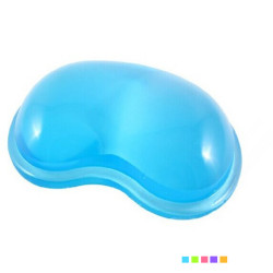 Gel Wavy Mouse Pad With Wrist Rest Support