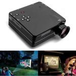 H80 Mini LED Projektor för Hemma TV VGA HDMI Support 1080P Kontor & Skolmaterial