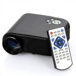 H88 Portable 180LM Mini Home Theater LED LCD Projector HDMI USB