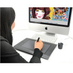 HUION H610 USB Graphics Ritning Pen Tablet Tangentbord & Mus