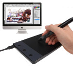 Huion H420 Signature Tablet Graphics Ritplatta Tangentbord & Mus