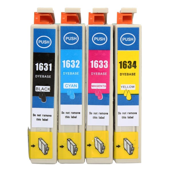 Ink Cartridges with Chip for Epson WF-2010W/2510WF/2520NF/2530WF Office & School Supplies