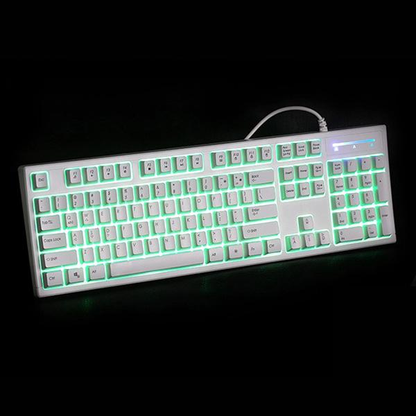 Jizz GX16 Vattentät Belysning Ljusdiod Mekanisk Handkänsla Gaming Tangetbord Tangentbord & Mus