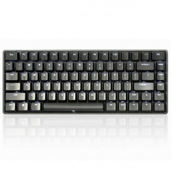 KBT KBTalking race2 75% Mini82 Mechanical Gaming Keyboard Kirsche Blau