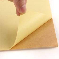 Kraft A4 Kleber bedeckt Printing Kopieren Etikettenpapier