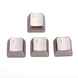 MKC Metal Zinc Alloy Arrow Key Keycaps for Cherry MX
