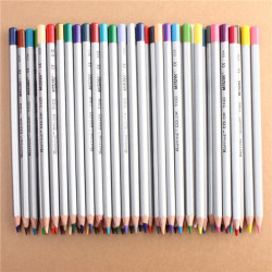Marco Fine 48 Colors Art Drawing Oil Base Pencil Set For Artist Sketch