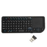 Mini 2.4G Trådlös Tangentbord Mus Multi-media Touchpad Hand Tangetbord Tangentbord & Mus