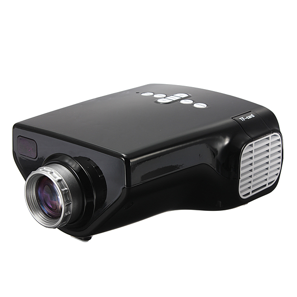 Mini Multimedia LED VGA Projector Home Cinema Support 1080P Input Office & School Supplies