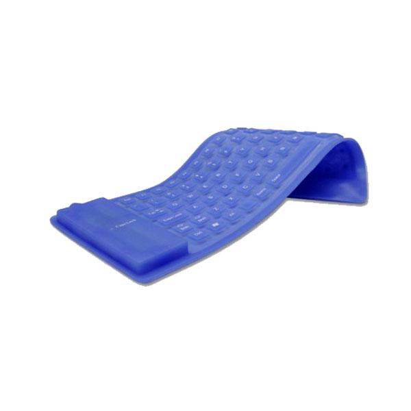 Ny Flexibel Vattentät Silicon Soft Tangentbord 85 Tangenter Tangentbord & Mus