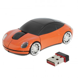 New Hot Sale USB Optical 2.4G wireless Car Mouse