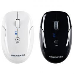 Newmen 110 MS-206BT 2.4G Bluetooth 3.0 Trådlös 4Key 1600dpi USB-mus