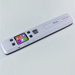 Bærbar Farve Scanner Sort / Hvid Multifunktion 1050DPI Iscan02