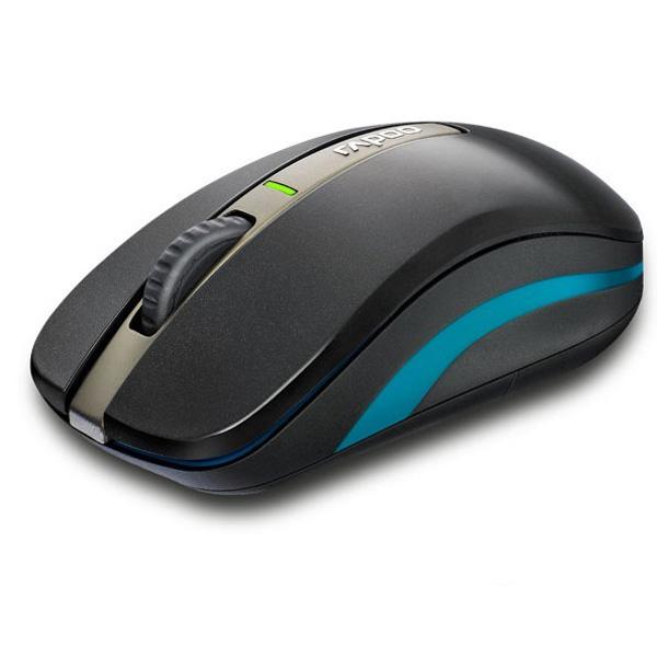 Rapoo 6610 2.4G Dual-mode 1000 Dpi Bluetooth 3.0 USB Optisk Mus Tastaturer & Mus