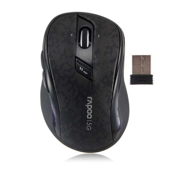 Rapoo 7100p 5.8G Trådlös Optisk Mus Bärbar Dator Tangentbord & Mus