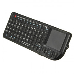 Rii V2 2.4GHz Wireless Mini PC Keyboard with Touchpad
